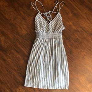 💜2 for $15 💜 Strappy striped Dress!
